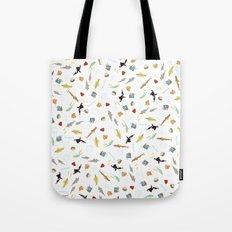 The Life Aquatic with Steve Zissou: Repeat Pattern Tote Bag