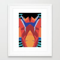 insect Framed Art Prints featuring Insect by gdChiarts