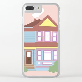 A Humble Astoria House Clear iPhone Case