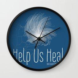 Help Us Heal - Hurricane Sandy Relief Wall Clock