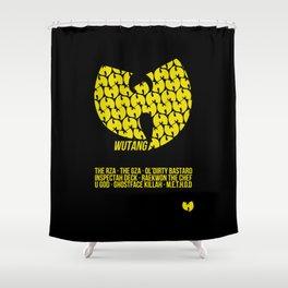 WU TANG CLAN Tribute Shower Curtain