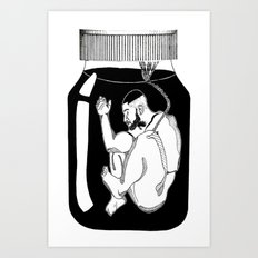 SAGAT Art Print