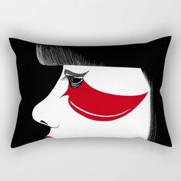 Modern Geisha Rectangular Pillow