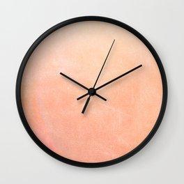 Sherbet Ombre Wall Clock