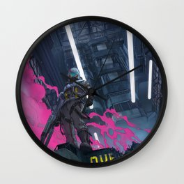 overdrive Wall Clock