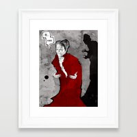 dracula Framed Art Prints featuring Dracula by Ed Pires