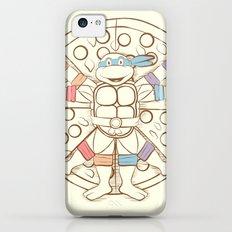 Vitruvian Turtle iPhone 5c Slim Case