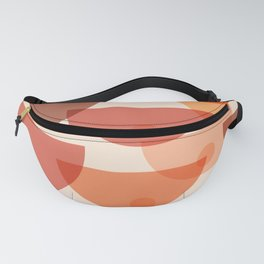 Mid Century Boobs Abstract Fanny Pack