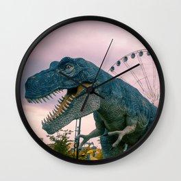 The Modern Dinosaur Wall Clock