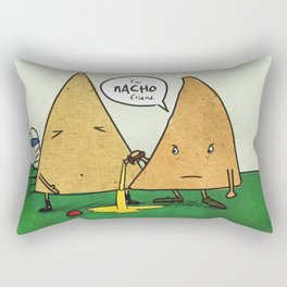 Nacho Friend Rectangular Pillow