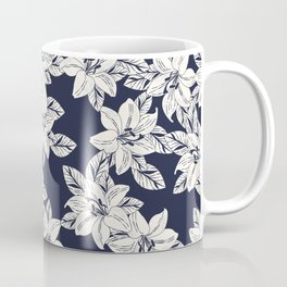 Hand Drawn Flower Coffee Mug