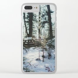 Attersee (7) Clear iPhone Case