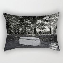 Burial Rectangular Pillow
