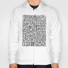 Alone in the crowd Hoody