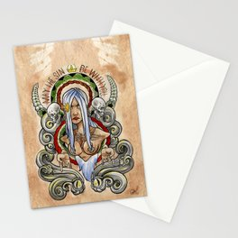 May the Sin be with you Stationery Cards