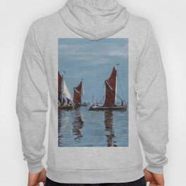 Thames barges Hoody