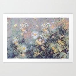Magical Anemones Art Print
