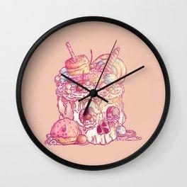Skull No.3 // The Yummy One Wall Clock