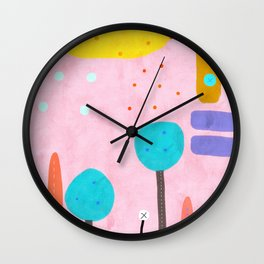 If you really need a touch of  Pink Wall Clock