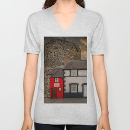 Smallest House In Great Britain Unisex V-Neck