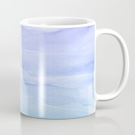 Layers Blue Ombre - Watercolor Abstract Coffee Mug