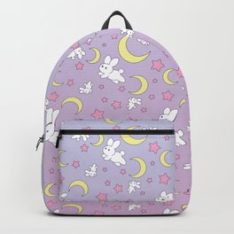 Bunny Pattern Backpack