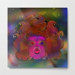 Garnet galaxy Metal Print