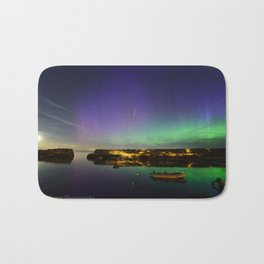 Shooting Star Aurora at Lanes Cove Bath Mat