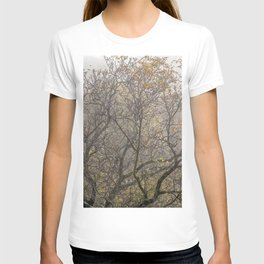 Autumnal tree branches T-shirt