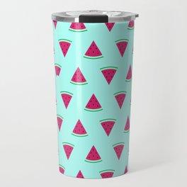 Watermelon Turquoise Travel Mug