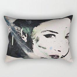 Monika Bellucci Rectangular Pillow