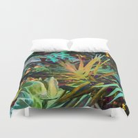 jungle Duvet Covers featuring jungle by clemm