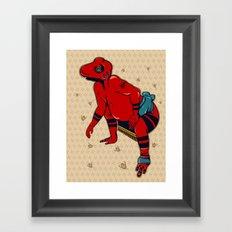Sumo(すもう) Framed Art Print