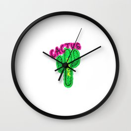 cactus jack Wall Clock