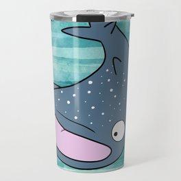 Janice the Whale Shark Travel Mug
