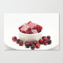 Cranberry Marmalade Candy Canvas Print