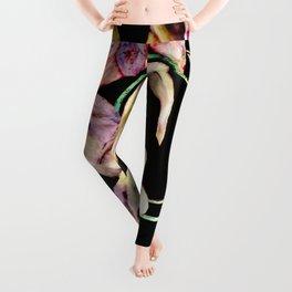 Colorful Flower Wall Leggings