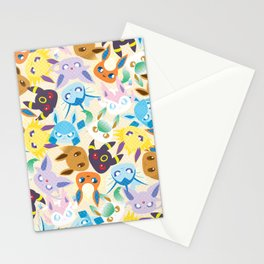 Eevee Evolutions Stationery Cards