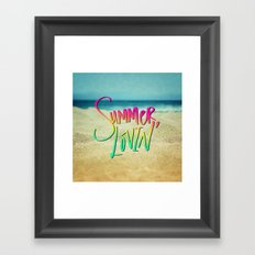 Summer Lovin' x Hawaii Framed Art Print