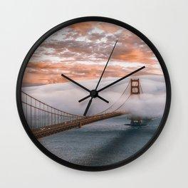 GOLDEN GATE BRIDGE - 21118/3 Wall Clock