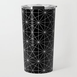 Intersected lines Travel Mug