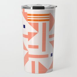 Random Tiles #society6 #pattern Travel Mug