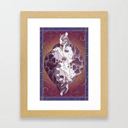 air foot Framed Art Print