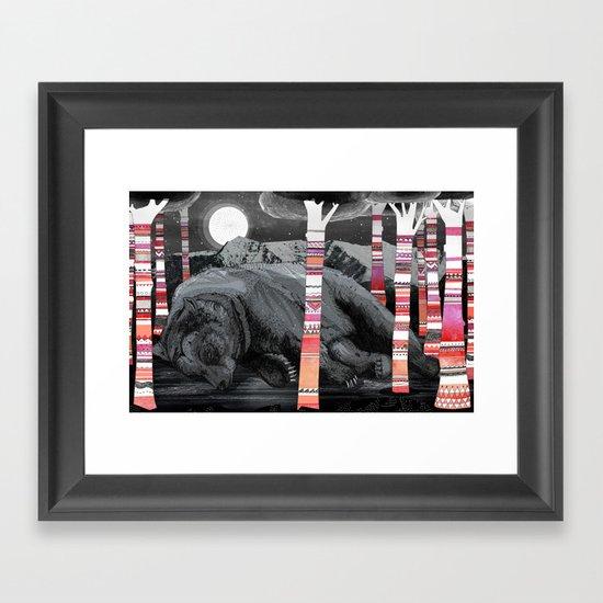 Sweet Dreams Ursus Arctus  Framed Art Print