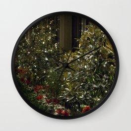 Longwood Gardens Christmas Series 77 Wall Clock
