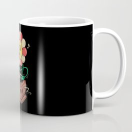 Vinyl Flower Coffee Mug