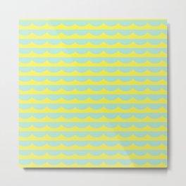 Lemon Scallops Metal Print