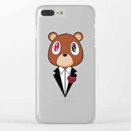 West Bear Clear iPhone Case