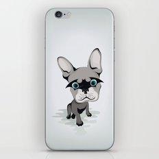 Bat French BullDog iPhone & iPod Skin