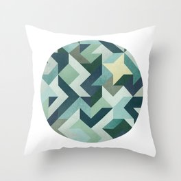 Circle Geometry Throw Pillow